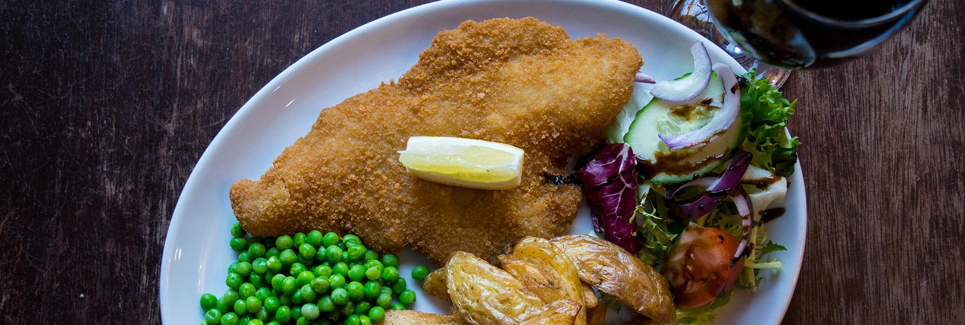 Fish Menu at The Open Hearth Pub & Restaurant, Pontypool