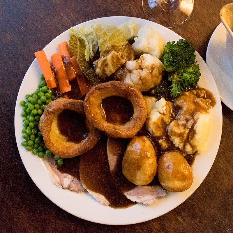 Sunday Lunch at The Open Hearth