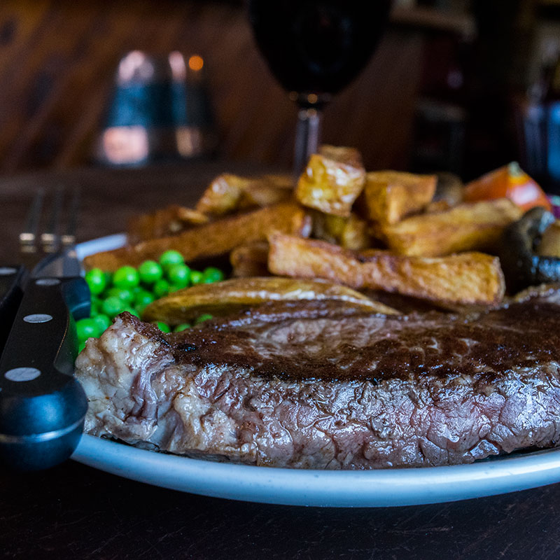 Steak Night at The Open Hearth every Friday